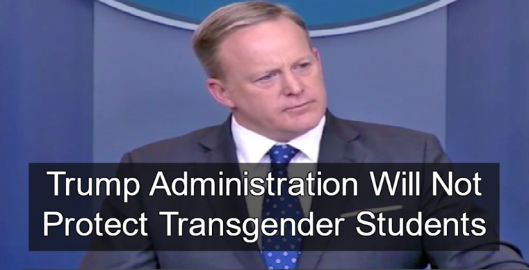 White House says transgender bathroom guidance under review