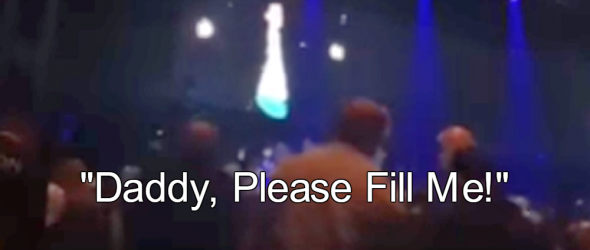 Watch: Creepy Christian Pastor Moans 'Daddy, Please Fill Me'