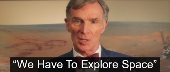 Bill Nye Tells Trump: Let's Go To Mars