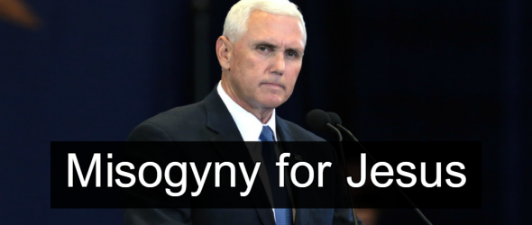 Pence 'Never Dines Alone With A Woman' Because Jesus