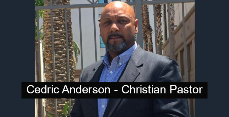 Cedric Anderson - Christian Pastor (Image via Facebook)