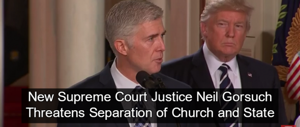 Neil Gorsuch Confirmed as Supreme Court Justice