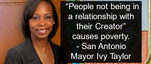 San Antonio Mayor Says Atheism Causes Poverty