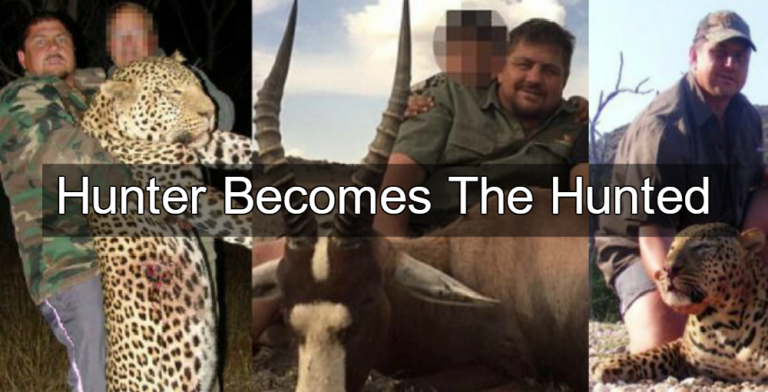 South African trophy hunter Scott van Zyl (Image via Joe.My.God)
