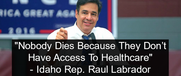 GOP Congressman: 'Nobody Dies Because They Don't Have Access To Healthcare'
