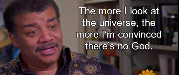Neil deGrasse Tyson Finds No Evidence For God's Existence