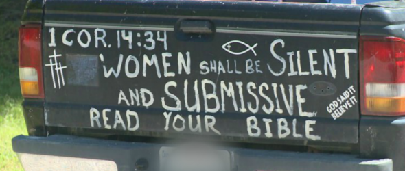 Virginia Atheist Trolls Christians With Bible Verse On His Truck