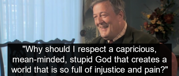 Stephen Fry Investigated By Irish Police For Blasphemy After Mocking God