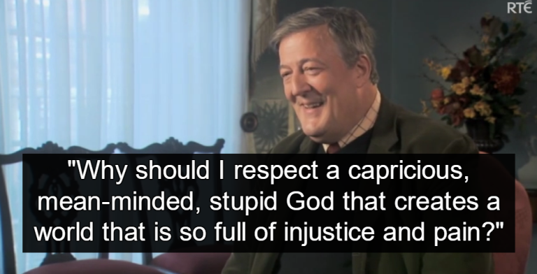 Stephen Fry (Image via Screen Grab)