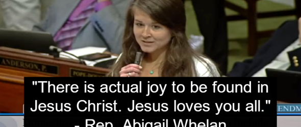 GOP Lawmaker Uses Jesus To Dodge Tax Questions From Democrats