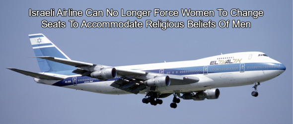 Court Rules Israeli Airline Can't Force Women To Change Seats