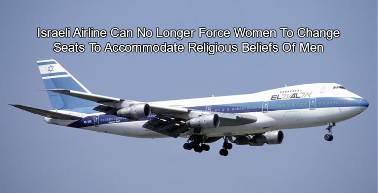 Civil Rights Groups Praise Decision Banning Gender Separation on El Al