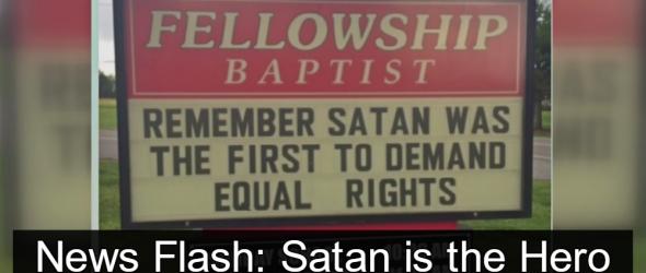 North Carolina Baptist Church Claims Equal Rights Are Satanic
