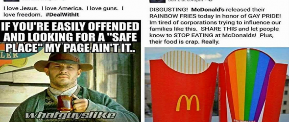 Conservative Christians Panic Over McDonald's Rainbow Fries