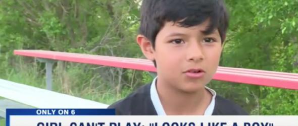 Nebraska Soccer League Bans Girl For 'Looking Like A Boy'