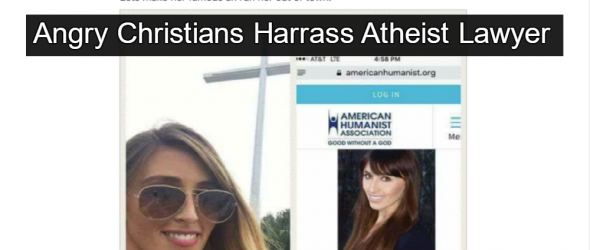 Christians Bully American Humanist Lawyer After Pensacola Cross Case