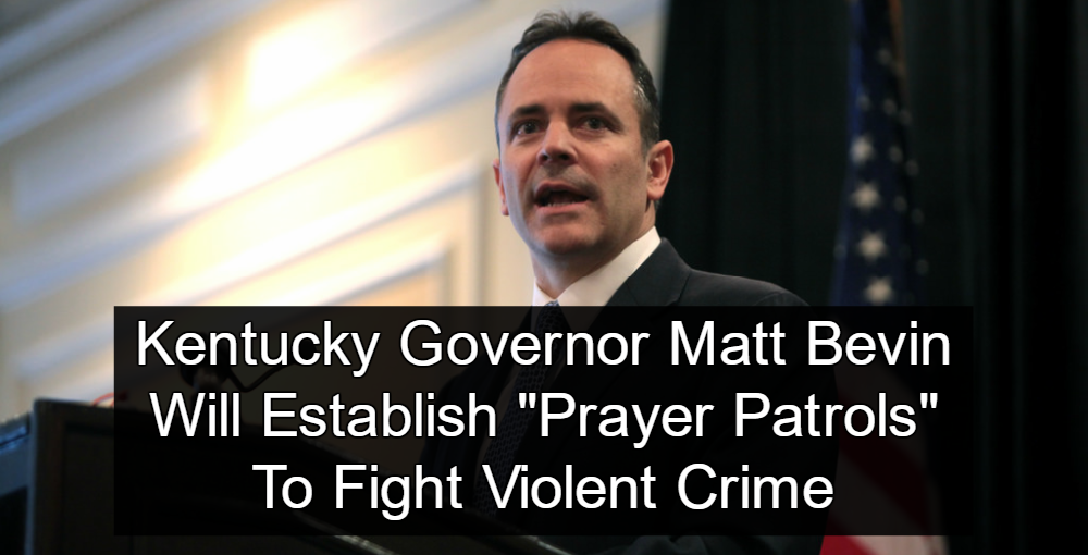 Kentucky Governor Matt Bevin (Image via Flickr)