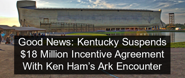 Kentucky: Ark Encounter In Breach Of Tax Incentive Agreement