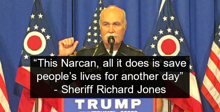 Butler County Sheriff Richard Jones Won't Let Deputies Carry Overdose Antidote (Image via Twitter)