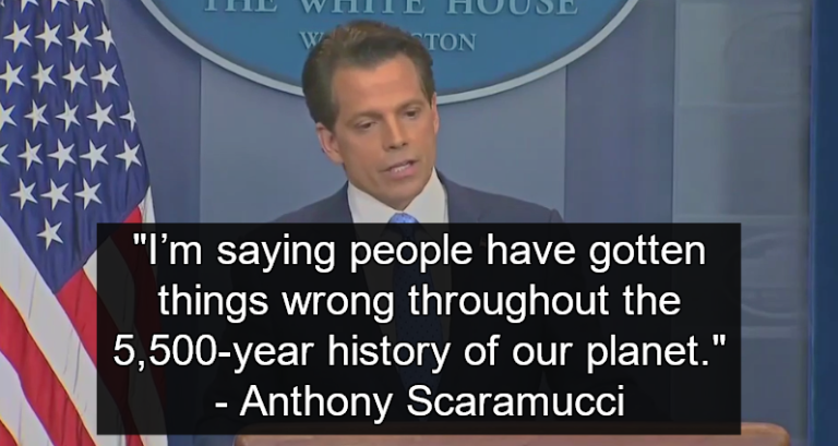 Anthony Scaramucci, Trump's New Communications Chief (Image via Screen Grab)