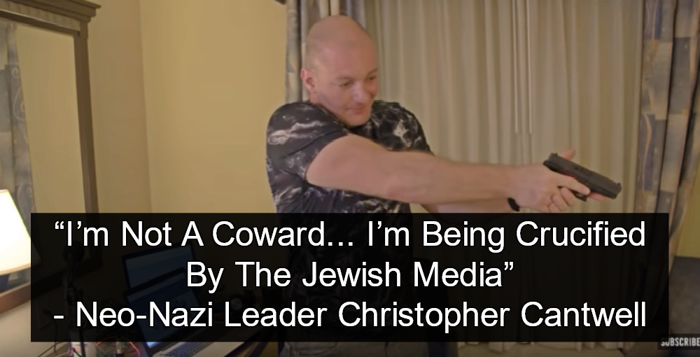 Neo-Nazi leader Christopher Cantwell (Image via Screen Grab)