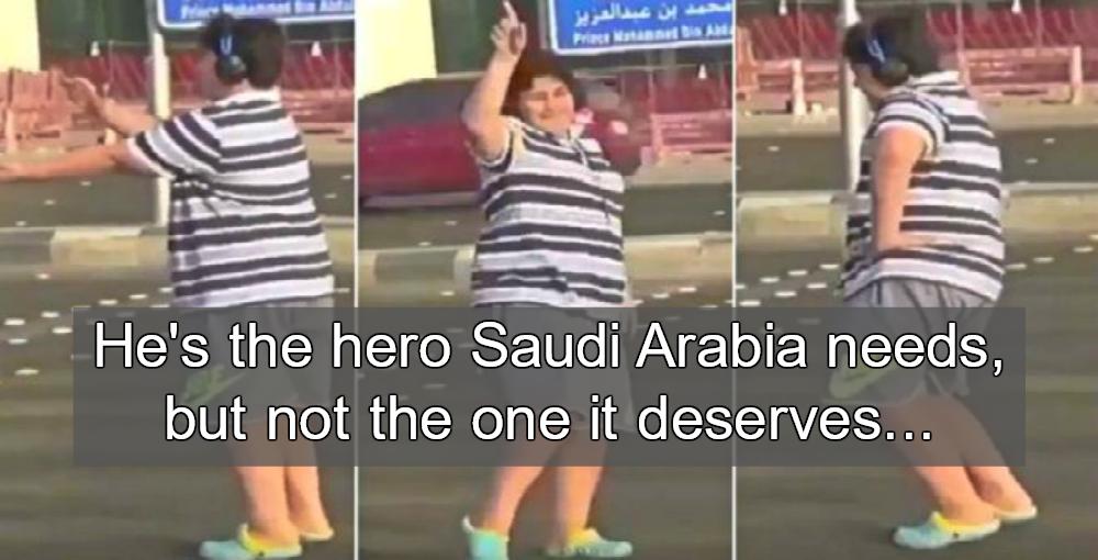 Teen Arrested For Dancing Macarena On Saudi Street (Image via Twitter)