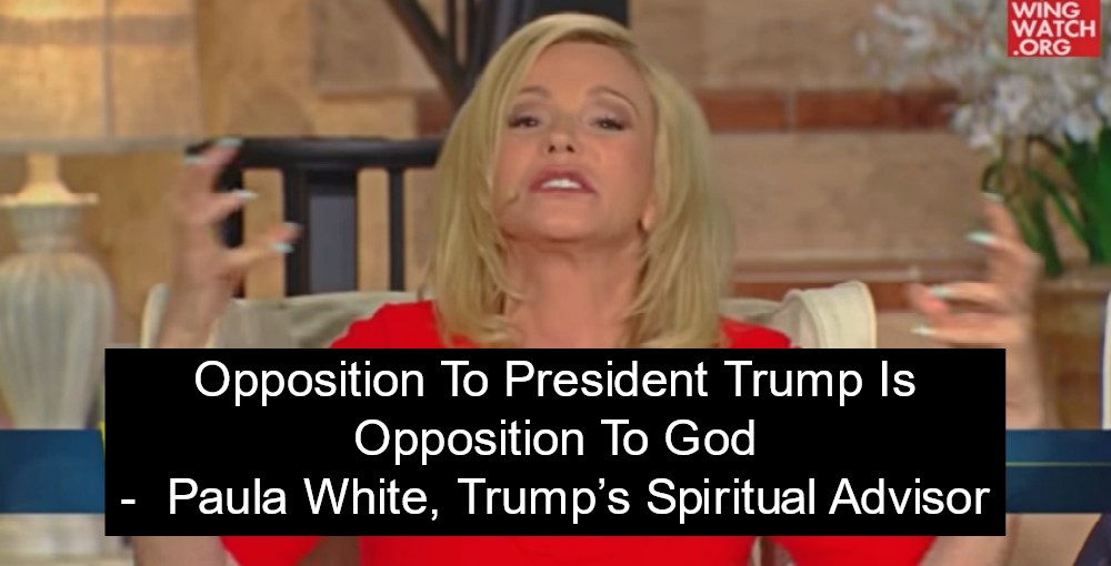 Paula White, Trump's Spiritual Advisor: Christians 'Were Sent Here To Take Over' (Image via Screen Grab)