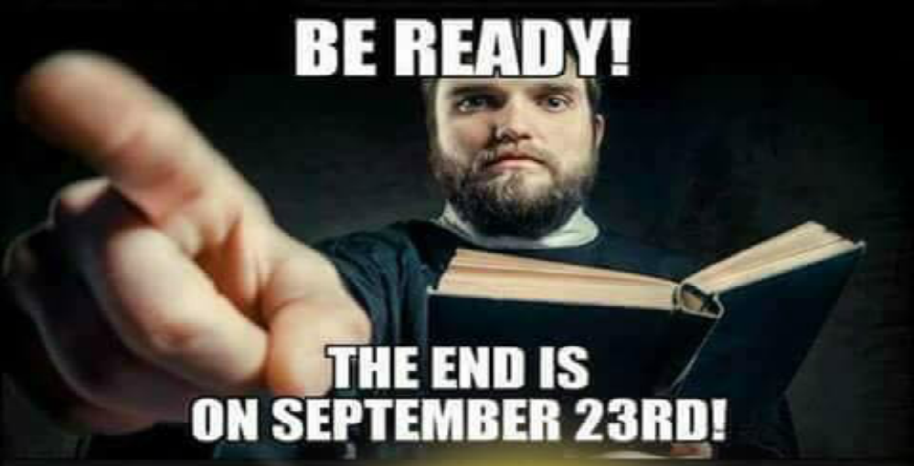 Christians Claim World Will End On September 23 (Image via Tumblr)