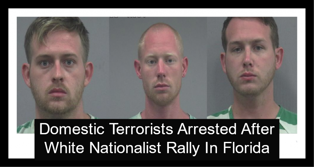 Domestic Terrorists Arrested For Attempted Homicide After White Nationalist Rally (Image via Facebook)