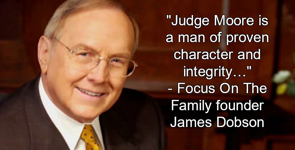 James Dobson Releases Radio Ad Endorsing Roy Moore (Image via Twitter)