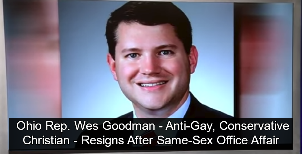 Ohio Rep. Wes Goodman resigns over 'inappropriate behavior'