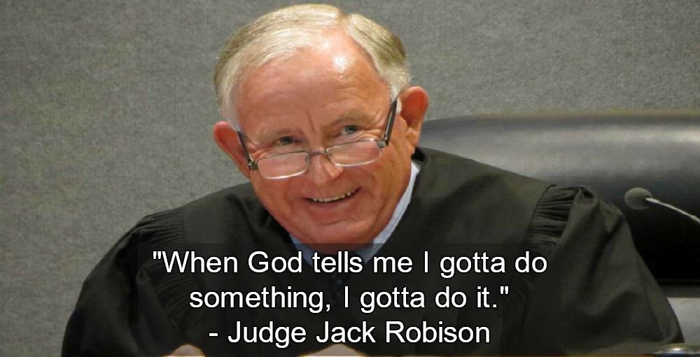 'God' told judge defendant wasn't guilty