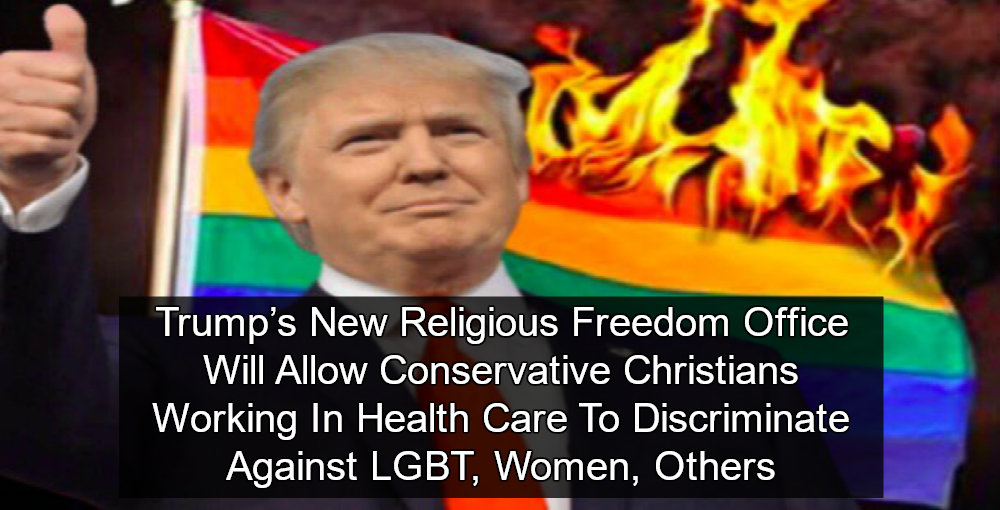 Trump Administration Creates New Religious Freedom Gestapo (Image via YouTube)