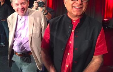 A Spiritual Revolution: 6,000 Turn Out To Hear Eckhart Tolle & Deepak Chopra In L.A.
