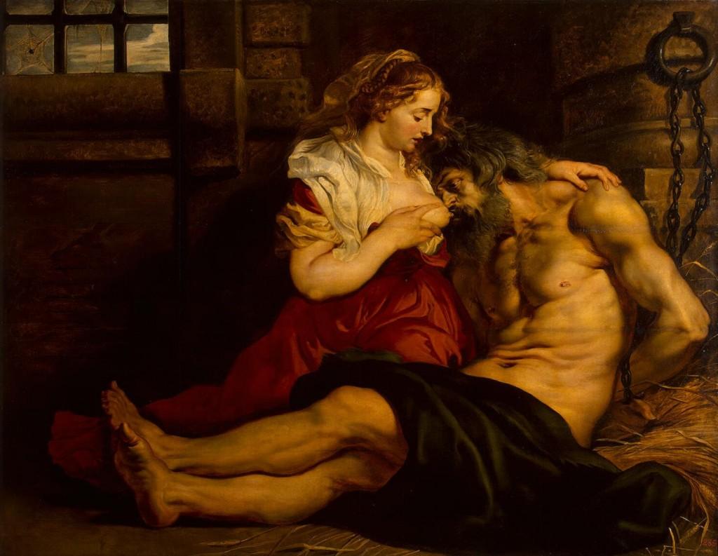 Roman_Charity_-_Pieter_Pauwel_Reubens