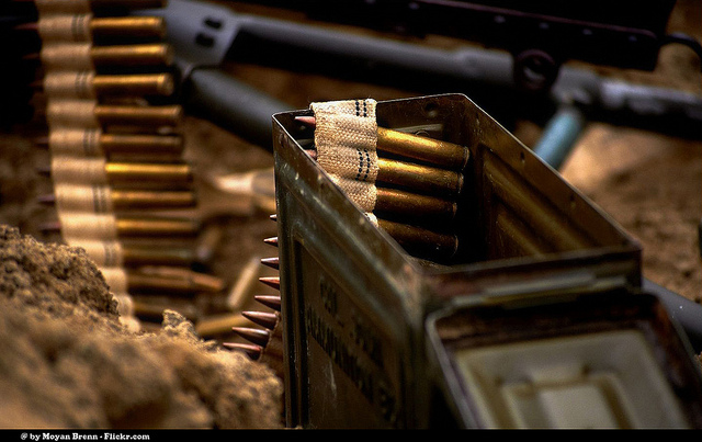 World War II ammo Photo Source: Flickr Creative Commons by Moyan Brenn  https://www.flickr.com/photos/aigle_dore/