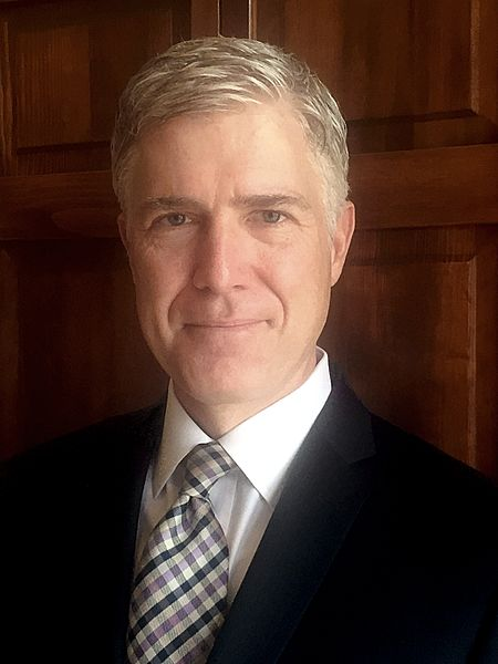 Judge Neil Gorsuch, President Trump's nominee to the United States Supeme Court. Photo Source: Wikimedia Commons, 10th Circuit file photo.