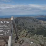 Baxter Peak. Dylan, 2011.