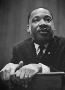 1964. Martin Luther King. Rights released to public by US News and World Report