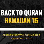 A Short Summary of Al-Anaam (Chapter 6) | Back to Quran Ramadan 2015