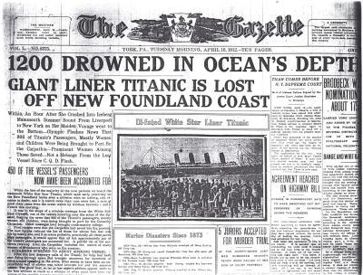 titanic book one unsinkable book report