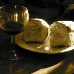 Bread and Wine #1. Photo courtesy KHRawlings via Flickr Creative Commons.