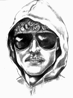 Composite sketch of the Unabomber before he was caught.