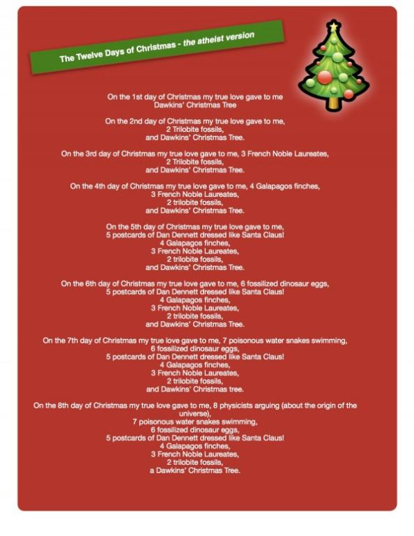 we hope you enjoy this re working of the twelve days of christmas by catherine dunphy incidentally this version will be republished in a new book by jerry - 12 Days Of Christmas Origin