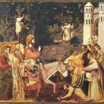 Jesus enters Jerusalem Giotto