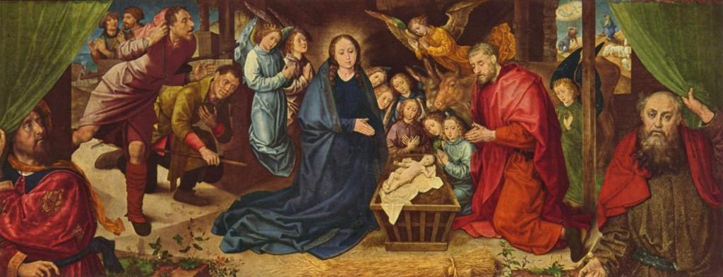 Religious Theatre Nativity scene