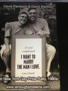 David Madison and Husband