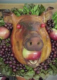 This ham tastes remarkably pagan.