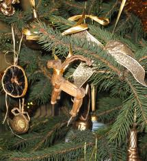 Putting a symbol of fertility on an evergreen tree.  It's pagan!