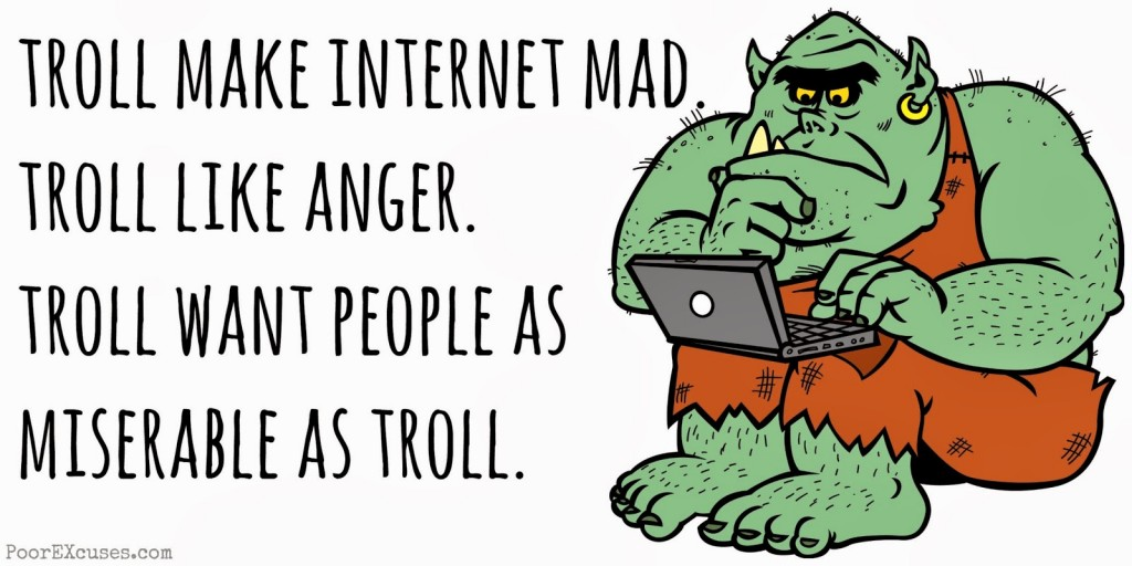 "Image from an article entitled, ""New Media Activism and Racist Internet Trolls"" from the blog New Media Against Racism."